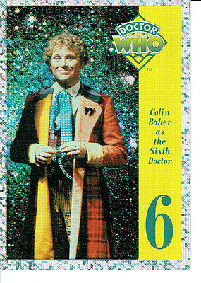 Doctor Who Cornerstone Series 1 Foil Card 6