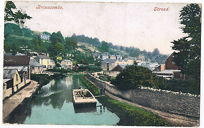 Brimscombe  - View Of The Canal And Town -  Stroud - Posted 1905