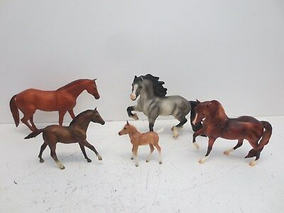 #2 Lot x5 Traditional Breyer Horses - 980 Silverton, 958 Andy Wind Bo Diddly, ++