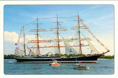 "Barker ""SEDOV"" (in Germany) Modern Russian postcard"