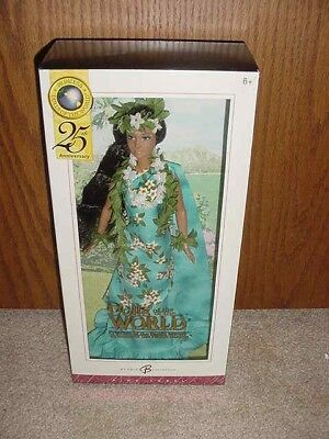 Pink Label Barbie Collector Dolls Of The World Princess Of Pacific Islands Nib