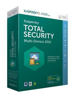 Kaspersky Total Security Multi-Device 2016/CD-ROM