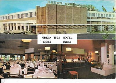 DUBLIN, Green Isle Hotel, Ireland, old postcard