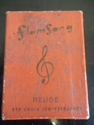 musical REUGE LIGHTER must see WORKING boxwd
