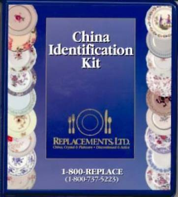 Replacements LTD China Pattern ID Kit Book 3 Notebook
