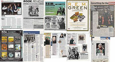 R.E.M. : CUTTINGS COLLECTION -interview adverts-