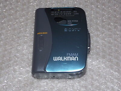 Sony Wm-Fx153 - Walkman Fm/am - Radio Cassette Player