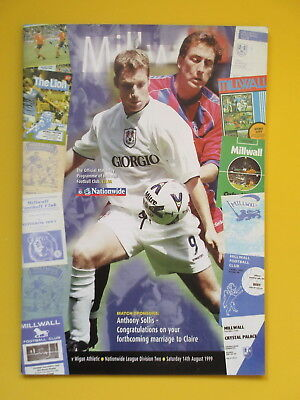 MILLWALL v WIGAN ATHLETIC 99/00