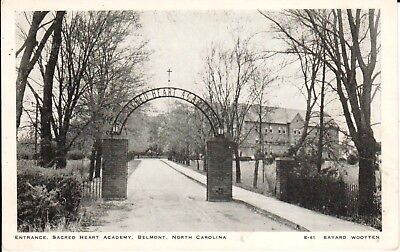 1940's Entrance, Sacred Heart Academy in Belmont, NC North Carolina PC Wootten
