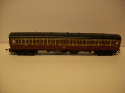 Triang OO gauge LMS Composite 1st/3rd coach Unboxed  Run Number 2643