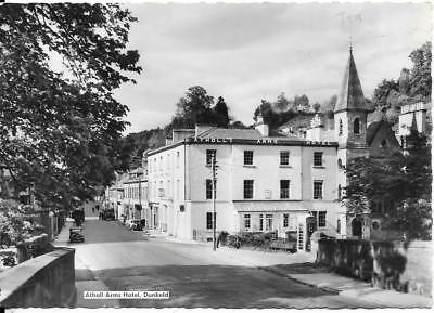 DUNKELD, Atholl Arms Hotel, Trust House, old postcard,