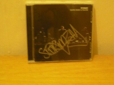 Signed Stormzy CD