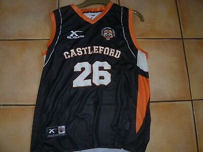 Castleford Tigers Rugby League Club Vest (No 26 On Back And Front)