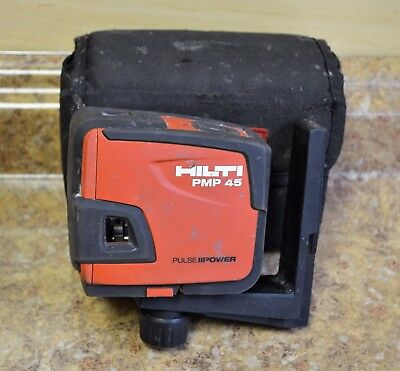 Hilti PMP45 Plumb & Square 5 Point Self Leveling Laser Level w/ Pouch