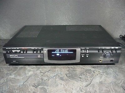 Philips Cdr770 Cd-R/rw Recorder- H/phone Socket (No Amp Required) Digi. Opt/coax