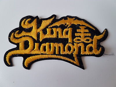 King Diamond Vintage Embroidered Patch Mercyful Fate Heavy Metal
