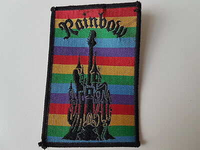 Rainbow Vintage Embroidered Patch Heavy Metal Rock