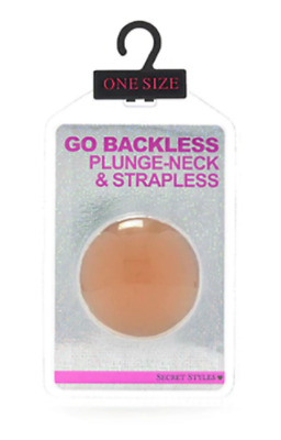 Secret Styles, Go Backless Plunge-Neck & Strapless Self-Adhesive Nipple Covers