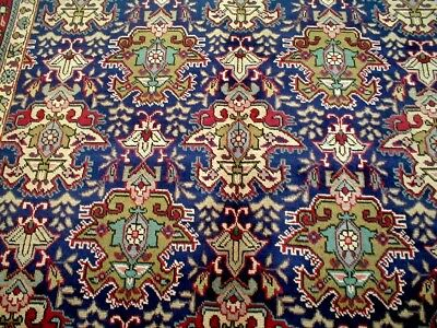 10X7 1940's BREATHTAKING FINE 70+YEARS ANTIQUE WOOL GEOMETRIC TABRIZ PERSIAN RUG