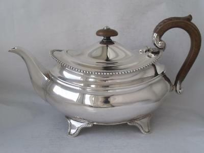 Quality Large Solid Sterling Silver Teapot 1957/ L 27.0 cm/ 746 g