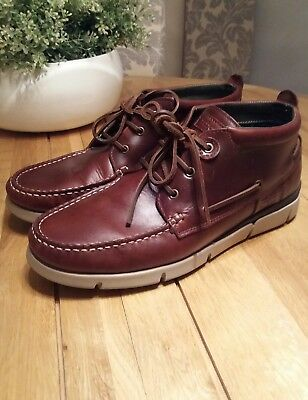 Mens Barbour Phil Lace Boot Brown size 10 RRP £119.99 Shoe Leather Boat