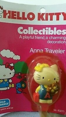 Vintage Hello Kitty figure in package Child Guidance 1983
