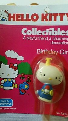 Vintage Hello Kitty figure Child Guidance 1983 in package