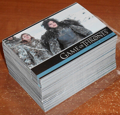 Game of Thrones Season 3 ~ COMPLETE 98-CARD BASE SET