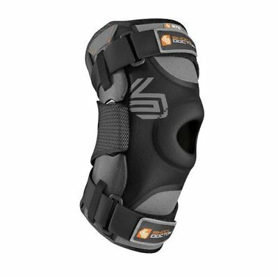 Shock Doctor Ultra Knee Support with Bilateral Hinges - Black, Large