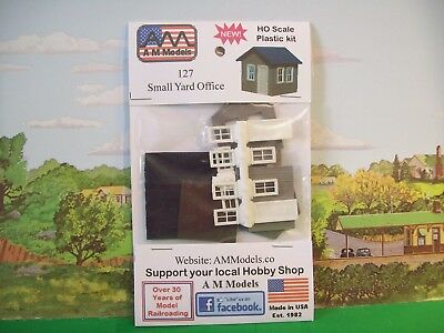 HO SMALL YARD OFFICE - A M Models #127 - New!