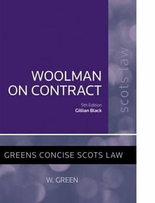 Woolman on Contract by Gillian Black 9780414019102 (Paperback, 2014)