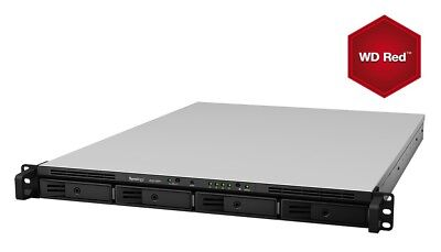 NEW! Synology RS815+ 4TB 4 x 1TB WD Red 4 Bay 1U Rackmount NAS