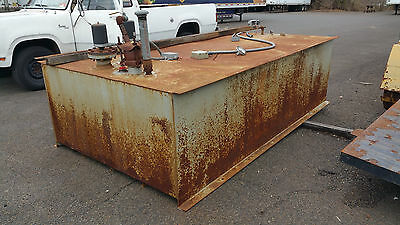 1000 GALLON FUEL TANK GENERATOR Biofuel Manufacturing FUEL OIL WATER TANK