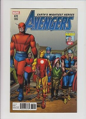 Avengers #672 Legacy Jack Kirby 100th Anniversary Variant !! NM/MINT !!