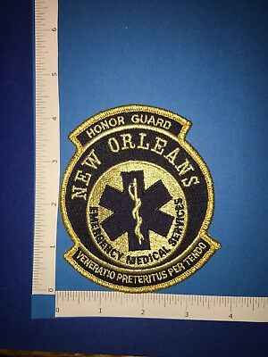 New Orleans Ems Honor Guard Patch