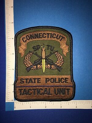 Connecticut State Police Tactical Unit Patch