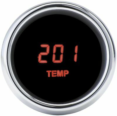 MCL-3000 Series Instrument Red - MCL-3K-TMP-R Oil Temperature Gauge