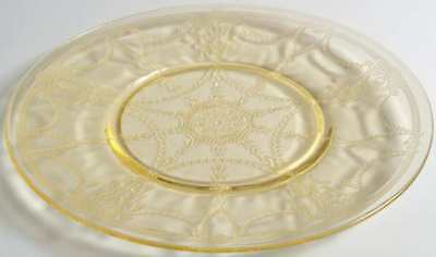 Anchor Hocking CAMEO YELLOW Luncheon Plate 6939832