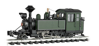 Bachmann G-Scale #91199 2-4-2 Steam Loco Green/wht/blk, Lights, Smoke N.I.B.