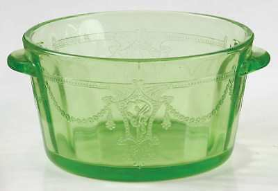 Anchor Hocking CAMEO GREEN Butter Tub 1673492