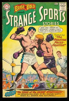 Brave And Bold #47 1963-Strange Sports Stories-Boxing Vg/fn