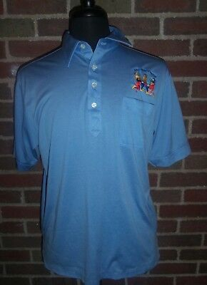 Vintage  Polo Shirt Embroidered Royal Order of Jesters Large