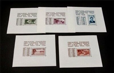 nystamps Viet Nam Stamp # 1 2 6 9 12 Sheets Mint OG H $150