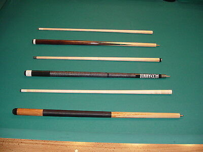 SCRATCH AND DENT SALE 3 CUES SAVE $ pool billiards wholesale CARLSCUES EBAY C048