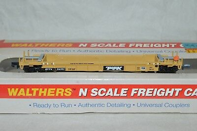 N scale Walthers Trailer Train TTX Thrall 48' containers well car double stack