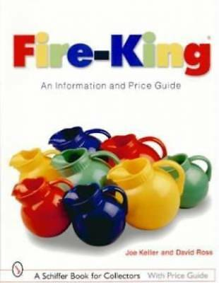 Vintage Fire-King Glass Collectors Price Guide w Jadite, Lustre, Kitchenware Etc