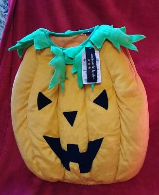 Halloween Costume Pumpkin 2T by Authentic Kids NEW WITH TAGS