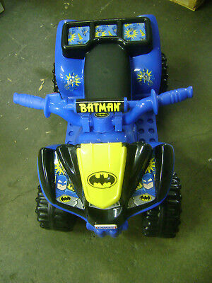 Fisher-Price Power Wheels Batman Lil' Quad Electric Ride-On $157 - READ