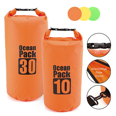 10/30L PVC Waterproof Dry Bag Sack for Canoe Floating Boating Kayaking Camping
