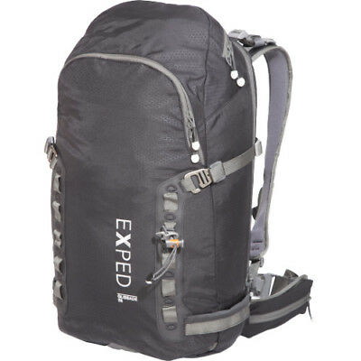 Exped Glissade 35 Mens Rucksack Snow Backpack - Black One Size